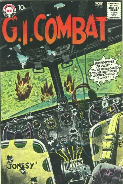 Cover for G.I. Combat (DC, 1957 series) #86