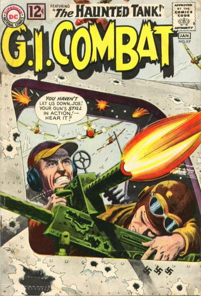 Cover for G.I. Combat (DC, 1957 series) #97