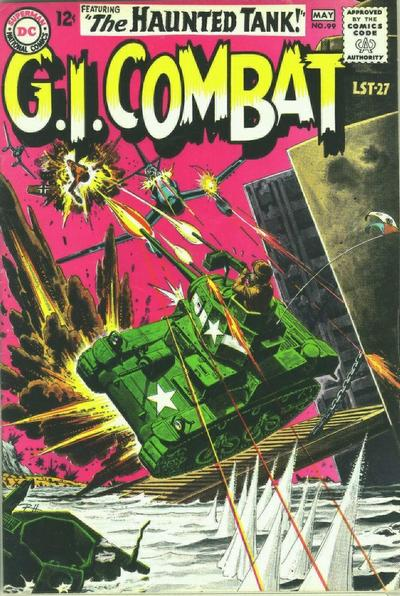 Cover for G.I. Combat (DC, 1957 series) #99