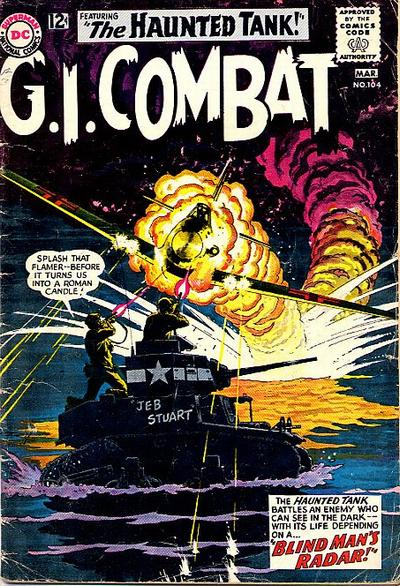 Cover for G.I. Combat (DC, 1957 series) #104