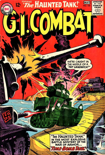 Cover for G.I. Combat (DC, 1957 series) #105