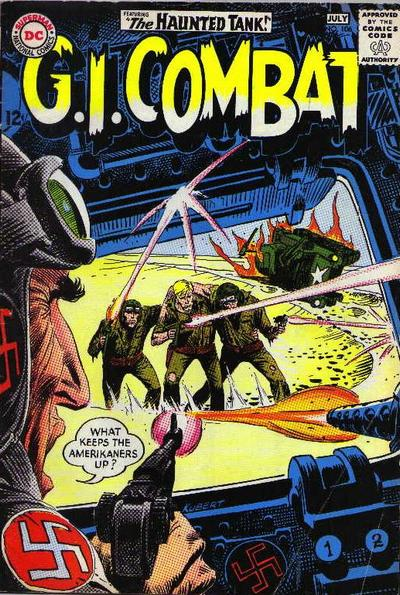 Cover for G.I. Combat (DC, 1957 series) #106