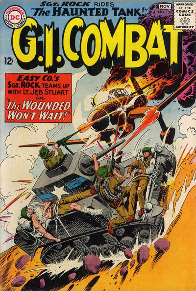 Cover for G.I. Combat (DC, 1957 series) #108
