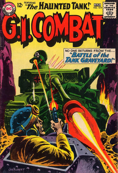 Cover for G.I. Combat (DC, 1957 series) #109
