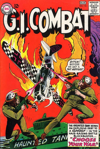 Cover for G.I. Combat (DC, 1957 series) #110