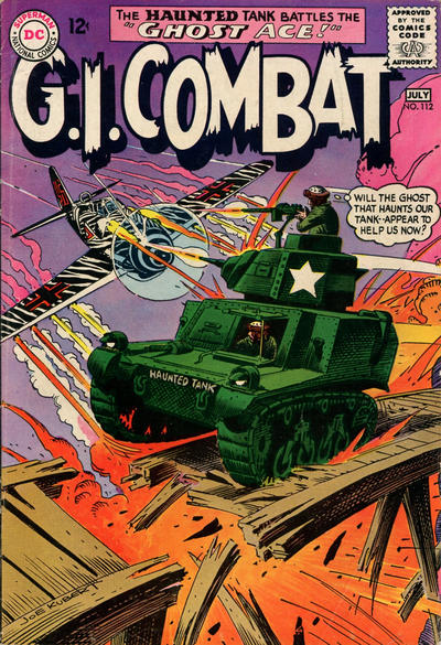 Cover for G.I. Combat (DC, 1957 series) #112