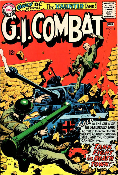 Cover for G.I. Combat (DC, 1957 series) #113