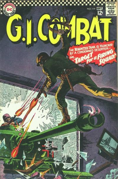 Cover for G.I. Combat (DC, 1957 series) #119