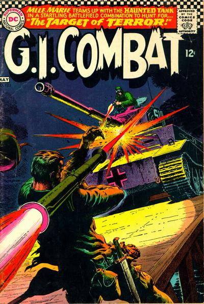 Cover for G.I. Combat (DC, 1957 series) #123