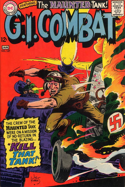 Cover for G.I. Combat (DC, 1957 series) #127