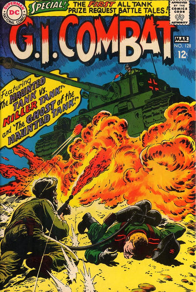 Cover for G.I. Combat (DC, 1957 series) #128