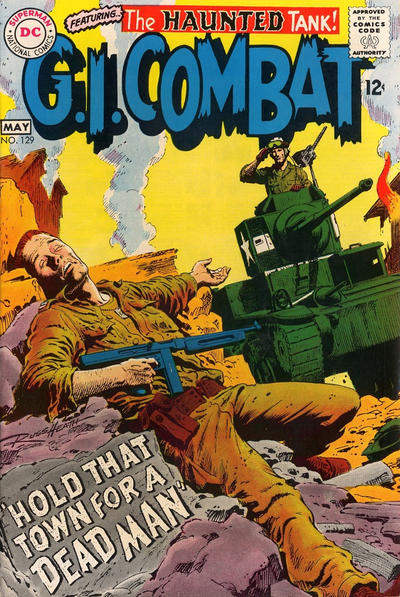 Cover for G.I. Combat (DC, 1957 series) #129
