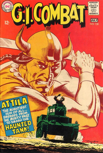 Cover for G.I. Combat (DC, 1957 series) #130