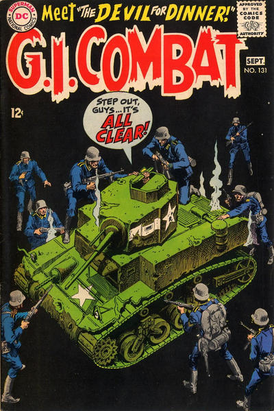 Cover for G.I. Combat (DC, 1957 series) #131