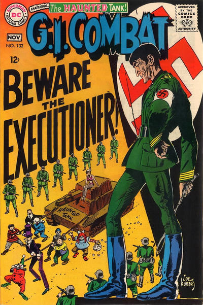 Cover for G.I. Combat (DC, 1957 series) #132