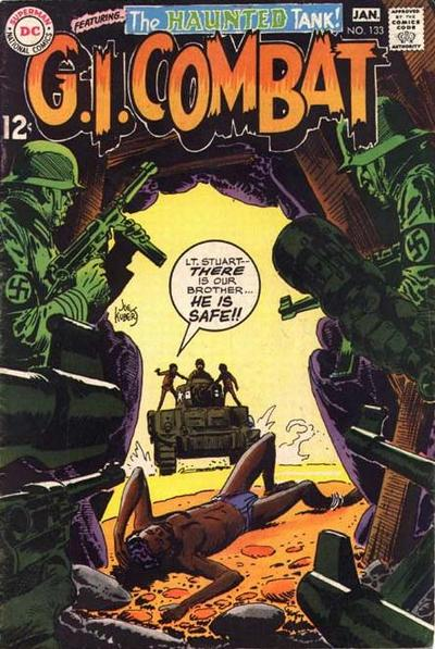 Cover for G.I. Combat (DC, 1957 series) #133