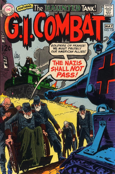 Cover for G.I. Combat (DC, 1957 series) #135
