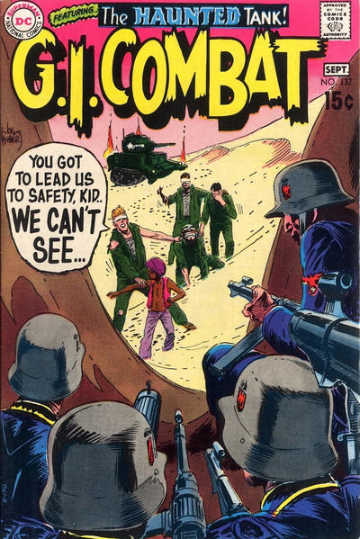 Cover for G.I. Combat (DC, 1957 series) #137