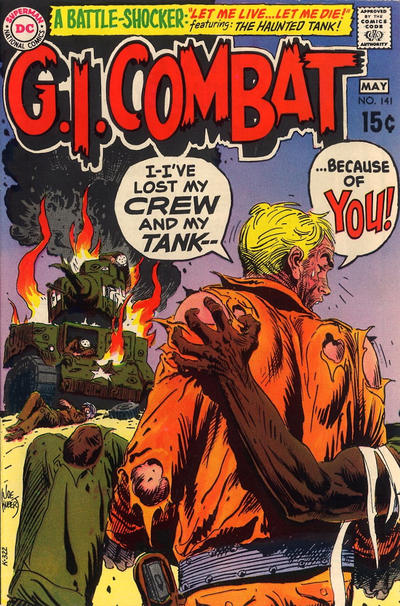 Cover for G.I. Combat (DC, 1957 series) #141