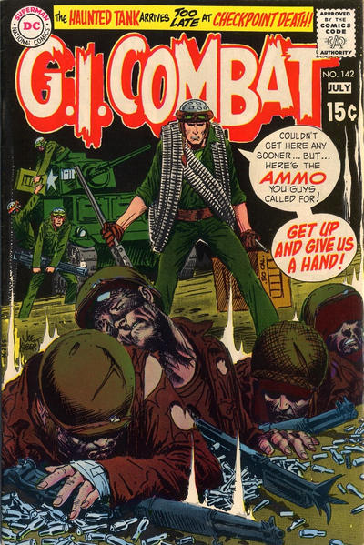 Cover for G.I. Combat (DC, 1957 series) #142