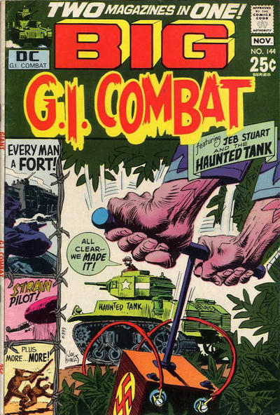 Cover for G.I. Combat (DC, 1957 series) #144