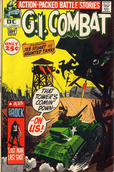Cover for G.I. Combat (DC, 1957 series) #149