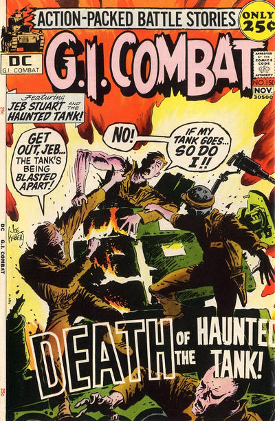 Cover for G.I. Combat (DC, 1957 series) #150