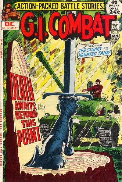 Cover for G.I. Combat (DC, 1957 series) #151