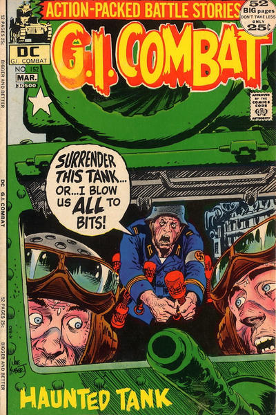 Cover for G.I. Combat (DC, 1957 series) #152