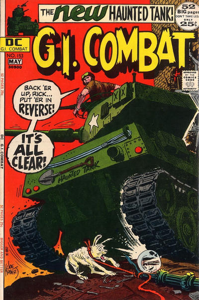 Cover for G.I. Combat (DC, 1957 series) #153