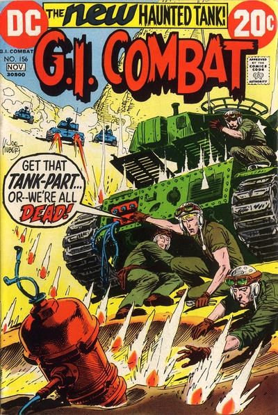 Cover for G.I. Combat (DC, 1957 series) #156