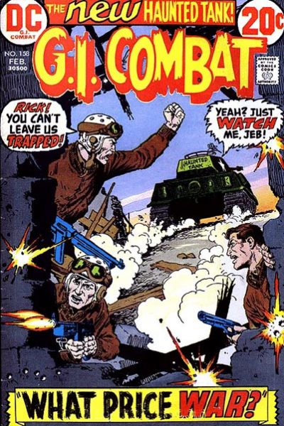 Cover for G.I. Combat (DC, 1957 series) #158
