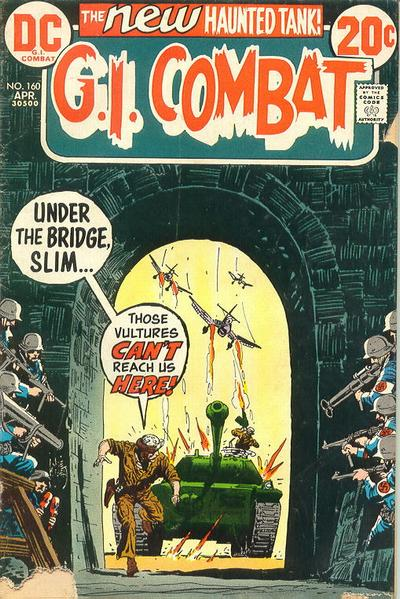 Cover for G.I. Combat (DC, 1957 series) #160