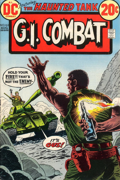 Cover for G.I. Combat (DC, 1957 series) #163