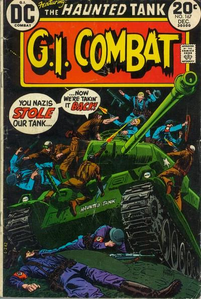 Cover for G.I. Combat (DC, 1957 series) #167