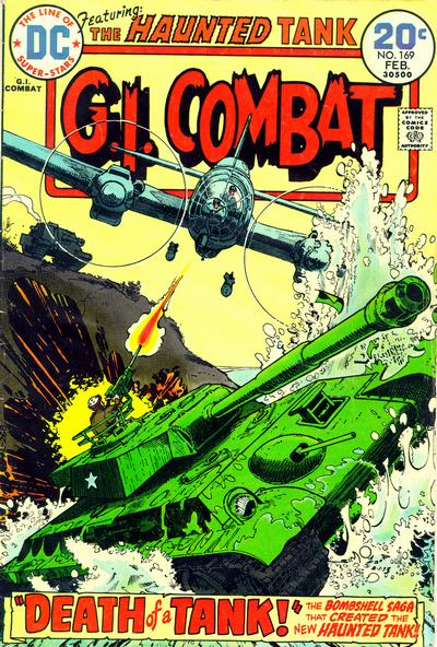 Cover for G.I. Combat (DC, 1957 series) #169