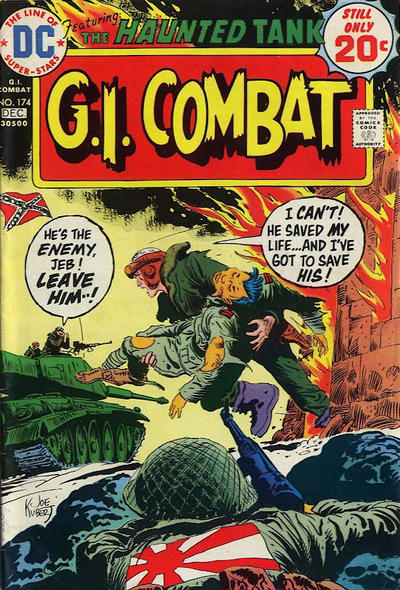 Cover for G.I. Combat (DC, 1957 series) #174