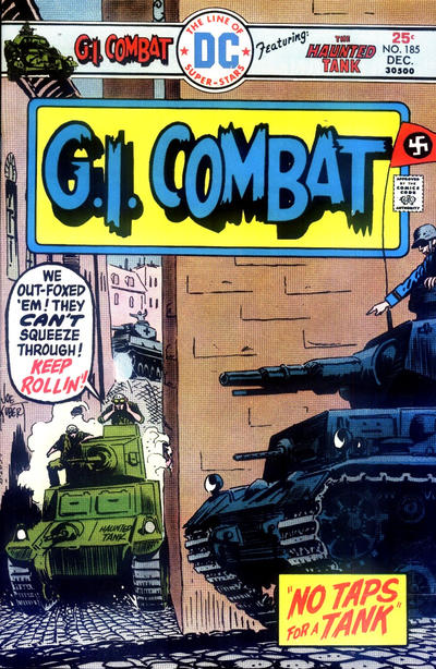 Cover for G.I. Combat (DC, 1957 series) #185