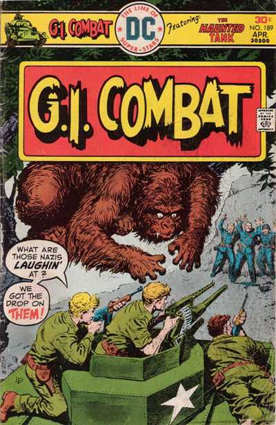 Cover for G.I. Combat (DC, 1957 series) #189