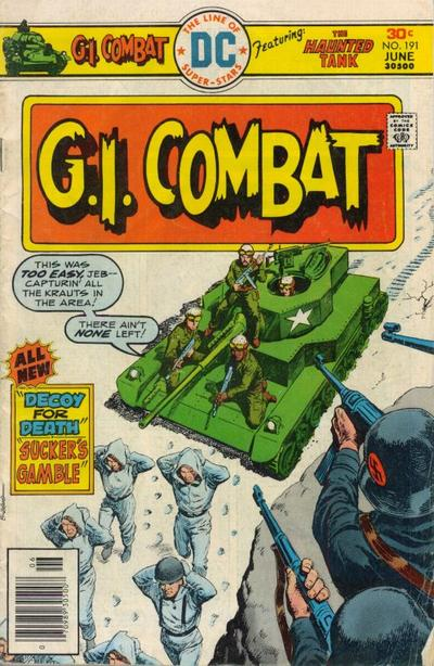 Cover for G.I. Combat (DC, 1957 series) #191
