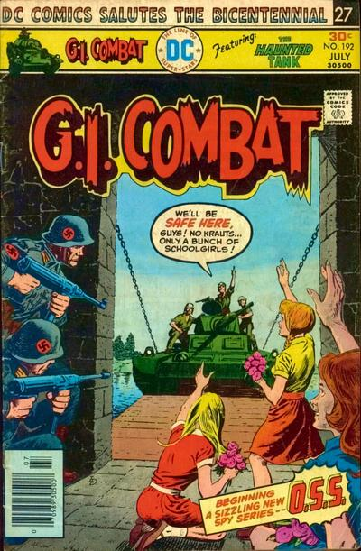 Cover for G.I. Combat (DC, 1957 series) #192