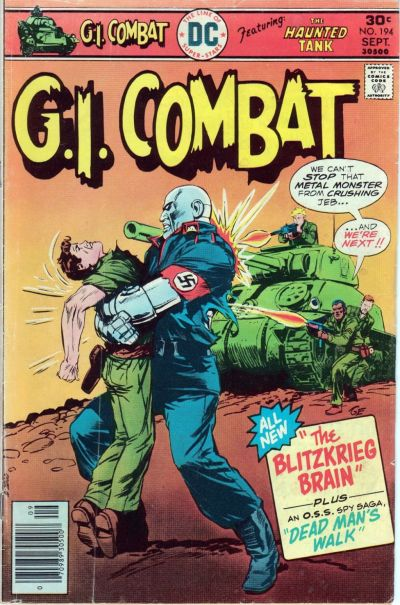 Cover for G.I. Combat (DC, 1957 series) #194
