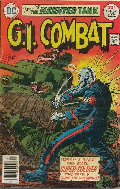 Cover for G.I. Combat (DC, 1957 series) #198
