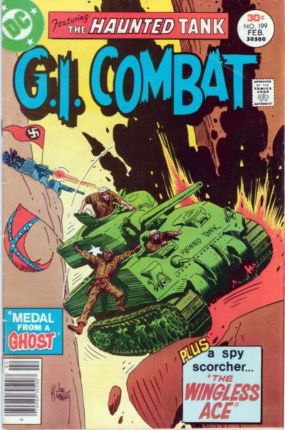 Cover for G.I. Combat (DC, 1957 series) #199