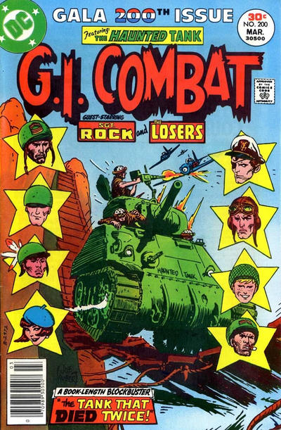 Cover for G.I. Combat (DC, 1957 series) #200