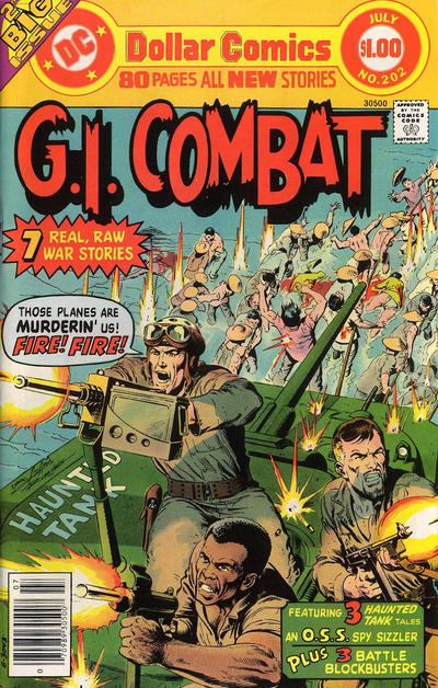 Cover for G.I. Combat (DC, 1957 series) #202