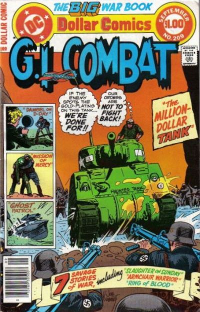 Cover for G.I. Combat (DC, 1957 series) #209