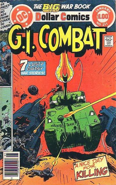 Cover for G.I. Combat (DC, 1957 series) #211