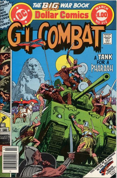 Cover for G.I. Combat (DC, 1957 series) #212