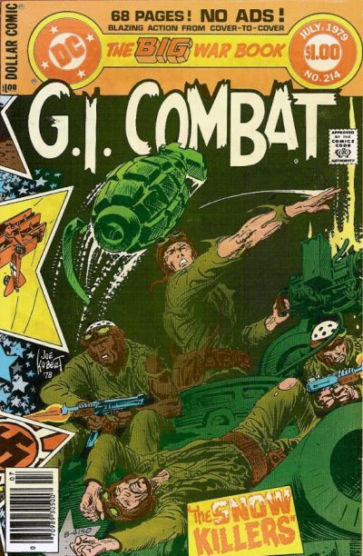 Cover for G.I. Combat (DC, 1957 series) #214
